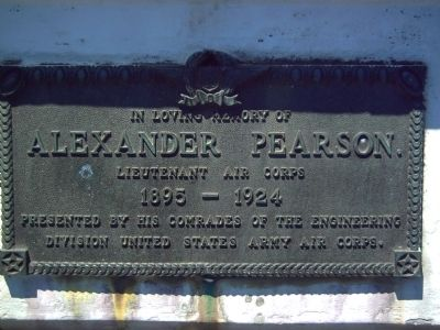 Alexander Pearson Marker image. Click for full size.