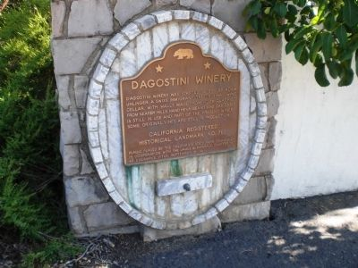 D'Agostini Winery Marker image. Click for full size.