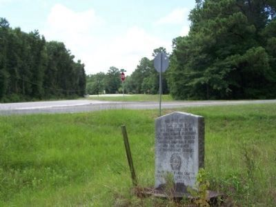 Old Post Road Marker and Barrington Ferry Road, to the right image. Click for full size.