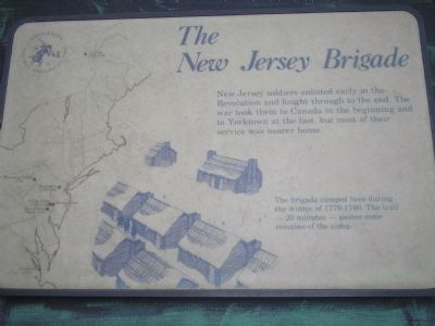 The New Jersey Brigade Marker image. Click for full size.