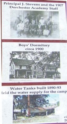 The Growth Of Dorchester Academy 1874- 1930s marker image. Click for full size.