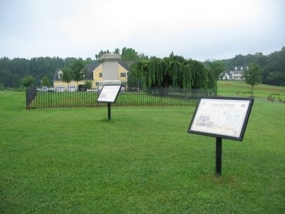 The 1st Massachusetts Monument and Interpretive Markers image. Click for full size.