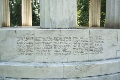District of Columbia World War Memorial image. Click for full size.