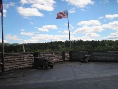Southeast Bastion of Fort William Henry image. Click for full size.
