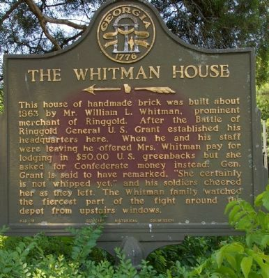 The Whitman House Marker image. Click for full size.