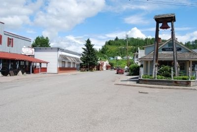 Main street in Hazelton image. Click for full size.