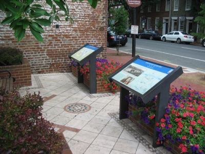 Fredericksburg Markers Next to the Visitor Center image. Click for full size.