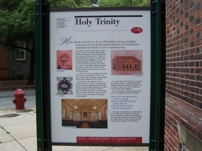 Holy Trinity Marker image. Click for full size.