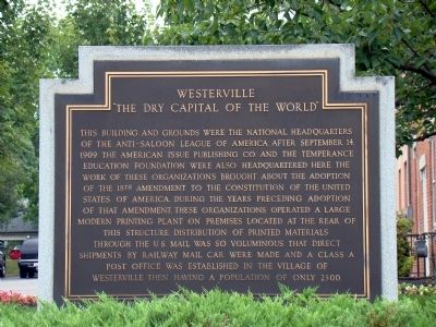 Westerville Marker image. Click for full size.