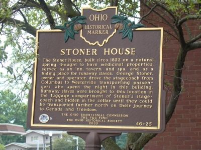 Stoner House Marker image. Click for full size.