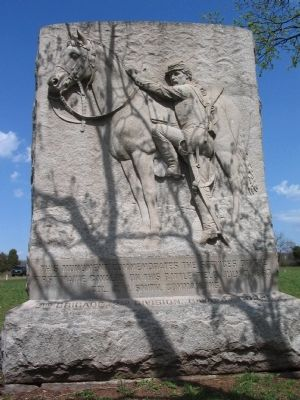 First Maine Cavalry Monument image. Click for full size.