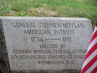 General Stephen Moylan Marker image. Click for full size.