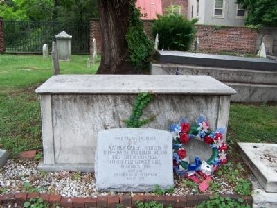 Full view of grave marker. image. Click for full size.