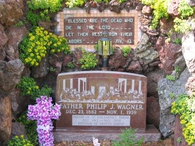 Father Philip J. Wagner Marker image. Click for full size.