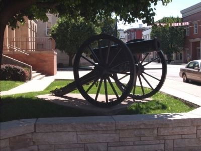 Cannon - - Right of Marker image. Click for full size.