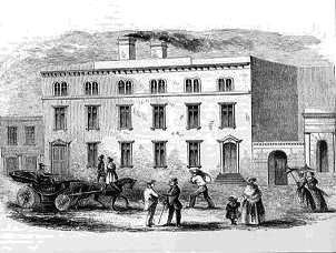 Depiction of the first US branch mint in San Francisco image. Click for full size.