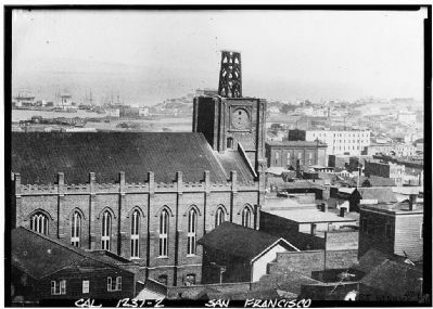 Old St. Mary's - 1854 image. Click for full size.