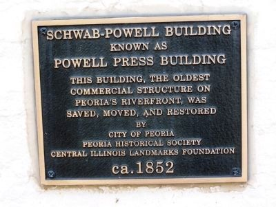 Schwab - Powell Building Marker image. Click for full size.