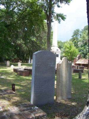 Brigadier General Daniel Stewart Marker in Midway Church Cemetery image. Click for full size.