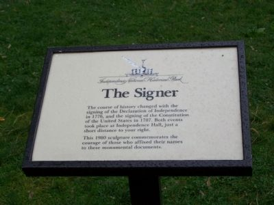 The Signer Marker image. Click for full size.