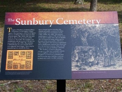 The Sunbury Cemetery Marker image. Click for full size.