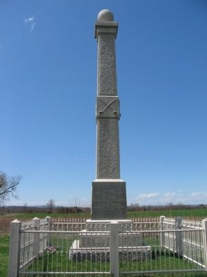 Union Cavalry Monument image. Click for full size.