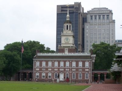 Independence Hall image. Click for full size.