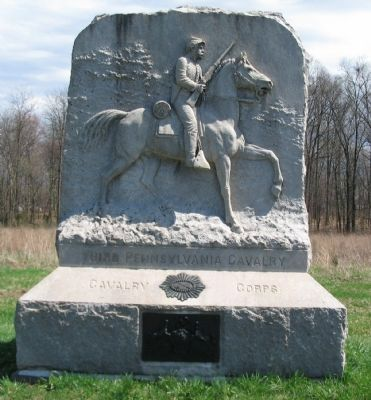 Third Pennsylvania Cavalry Monument image. Click for full size.