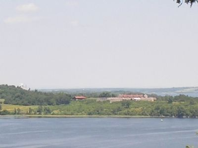 Fort Ticonderoga from Mount Independence image. Click for full size.