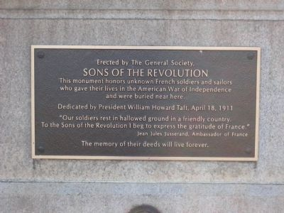 Sons of the Revolution Marker image. Click for full size.