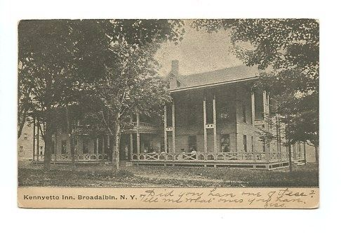 Kennyetto Inn, Broadlbin, N.Y. image. Click for full size.