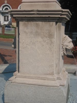 Reverse Side of Rev. William Scott Southgate Marker image. Click for full size.