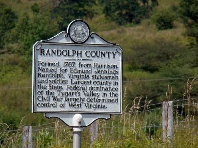 Randolph County Face of Marker image. Click for full size.
