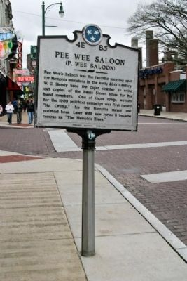 Pee Wee Saloon Marker image. Click for full size.
