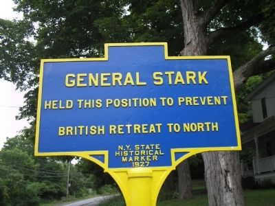 General Stark Marker image. Click for full size.
