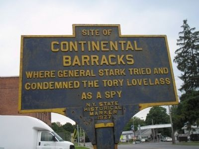 Continental Barracks Marker image. Click for full size.