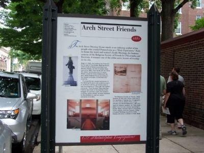 Arch Street Friends Marker image. Click for full size.