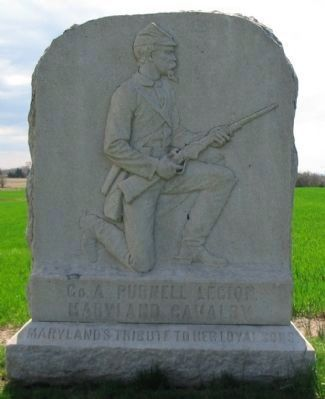 Co. A Purnell Legion Monument image. Click for full size.