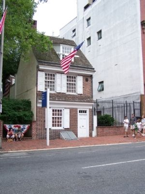 The Betsy Ross House image. Click for full size.