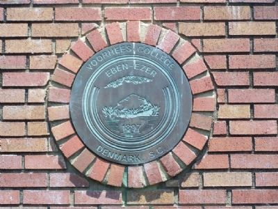 Voorhees College Wall Plaque image. Click for full size.