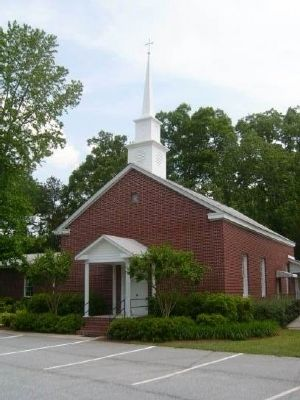 Gilgal United Methodist Church -<br>Founded 1817 image. Click for full size.