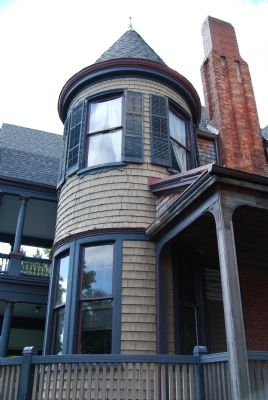 McGowan-Barksdale-Bundy House - Corner Tower image. Click for full size.