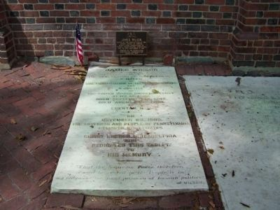 Grave of James Wilson image. Click for full size.