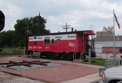 Nickel Plate # 497 Caboose image. Click for full size.