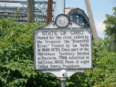State of Ohio Face of Marker image. Click for full size.