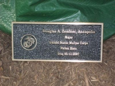 Douglas A. Zembiec Marker image. Click for full size.