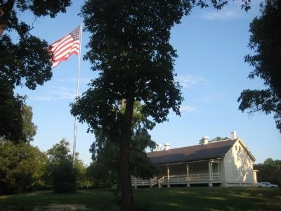 Fort Smallwood Park Flagpole image. Click for full size.