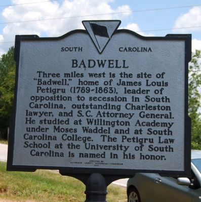 Badwell Marker image. Click for full size.
