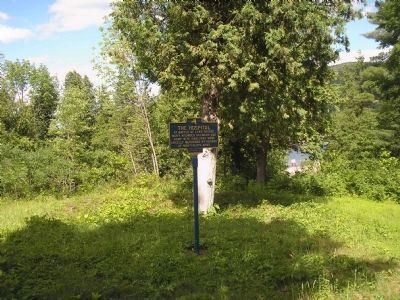 The Hospital Marker image. Click for full size.
