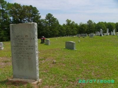 Original Site of Sardis Baptist Church image. Click for full size.